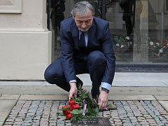 Vzpomínkový akt na Jana Masaryka v Černínském paláci za účasti ministra zahraničí Martina Stropnického.