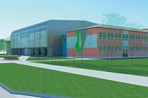 PROJEKT ROZŠÍŘENÍ školy v Rudné je již hotový, nyní se čeká na stavební povolení. Vizualizace