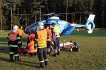 Nehoda ve Struhařově.
