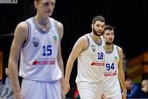 Basketbalisté USK Praha. Ilustrační foto.
