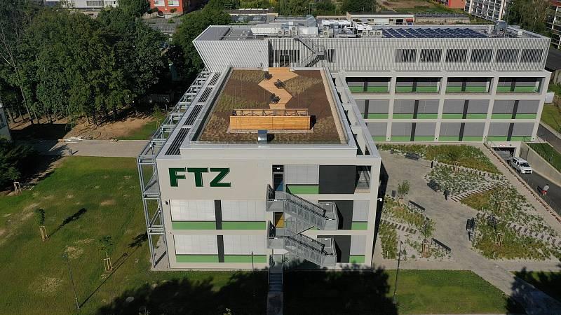 Nový pavilón FTZ.