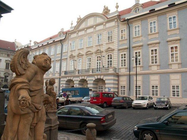 Budova Hudební akademie.
