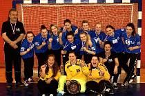 Vršovické házenkářky získaly stříbro na Prague Handball Cupu.