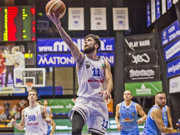 Jistota. Kapitán USK Michal Mareš předvedl na Folimance další spolehlivý výkon.