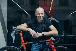 Vladan Hájek, podnikatel z Pařížské ulice v Praze.