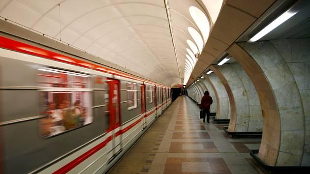 Stanice Anděl metra B./Ilustrační foto.