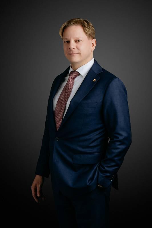 Nový šéf pražské Hospodářské komory Petr Michal.