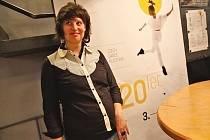 Kateřina Višinská, ředitelka pražského festivalu Česká taneční platforma.