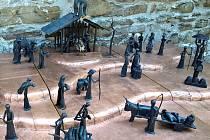 Kovaný betlém je skutečně unikát, otec a syn Pavel a Tomáš Kverkové byli patrně první, kdo s tímto nápadem přišli.