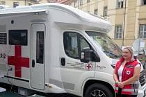 Červený kříž dostal mobilní asistenční centrum.
