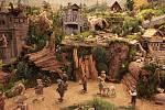 Výstava betlémů z Třeště v Jindřišské věži.