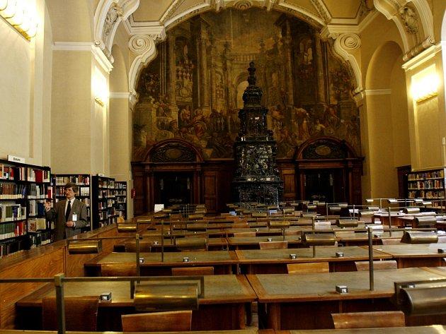 Národní knihovna v pražském Klementinu.