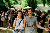 Z festivalu Povaleč v obci Valeč na Karlovarsku.