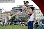 Akrobatický tanec.