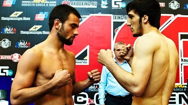 Boj o postup do finále turnaje série Absolute Championship Berkut: Filip Macek versus Murad Kalamov.