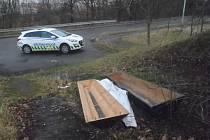 Strážníci našli prázdnou rakev