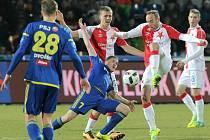 18. kolo první fotbalové ligy: Vysočina Jihlava - Slavia Praha 0:0.