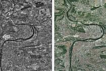 Dvě Prahy. Tak se jmenuje web, který potěší všechny, co si rádi prohlížejí staré mapy. Ukazuje totiž vedle sebe Prahu v roce 1953 a dnes. Mapy lze přibližovat, takže se lze třeba podívat, jak to vypadalo právě ve vaší čtvrti.