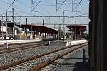 Železniční stanice Praha - Hostivař.