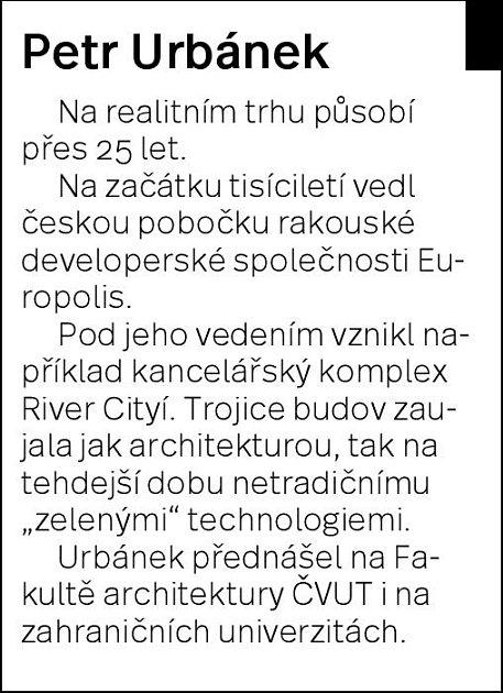 Kdo je Petr Urbánek