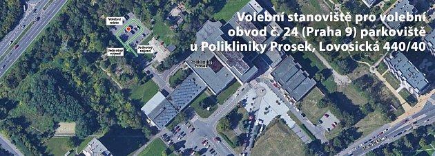 Stanoviště Prosek.