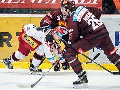 Extraliga hokej Mountfield Hradec Králové vs. Sparta praha