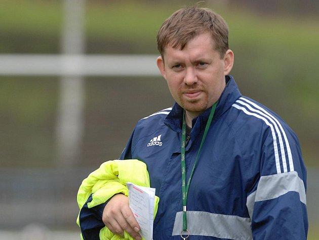 PO KRČI VYŠEHRAD. Jiří Formánek má v novém působišti jedinou ambici - přežít ve třetí lize.