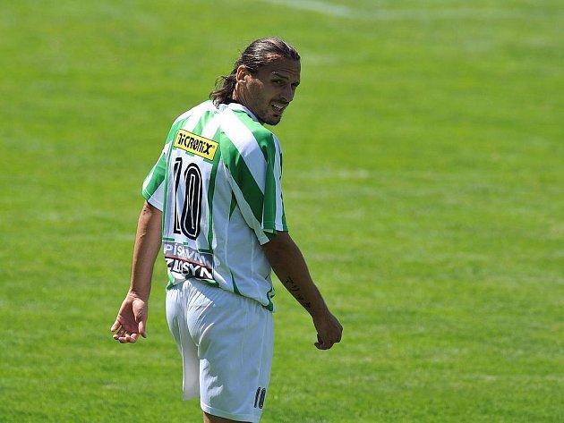 DRUHÝ ZÁPAS, ŽÁDNÝ BOD. Marek Kincl z Bohemians Praha rozhodně neopouštěl hřiště spokojený. Zelenobílí si vstup do sezony představovali určitě jinak.