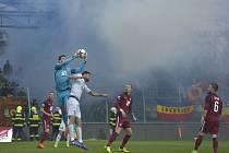 Utkání 20. kola první fotbalové ligy: FK Mladá Boleslav - Sparta Praha.