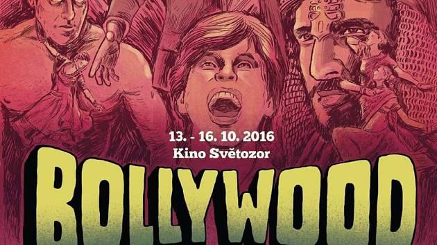 Plakát Festivalu bollywoodského filmu.