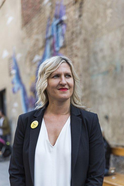 Volební štáb Praha Sobě, Hana Třeštíková, 6.10.2018
