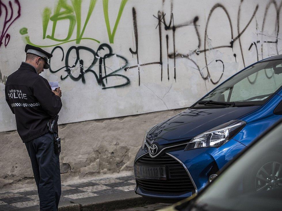 Pražský strážník. Ilustrační foto.