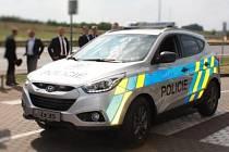 Novinkou výbavy Policie České republiky jsou nová SUV vozidla Hyundai ix35