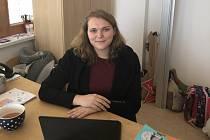 Klára Řešátková učí na ZŠ v Chýni.