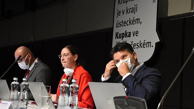 Ze setkání představitelů středočeských měst a obcí s vedením krajského úřadu v hotelu Clarion v pražských Vysočanech.