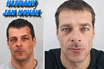 Hledaný vězeň Jan Novák.