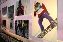 Na výstavě v Olympijském parku Soči 2014 na Letné v Praze uvidíte mimo jiné i snowboardistku Šárku Pančochovou.