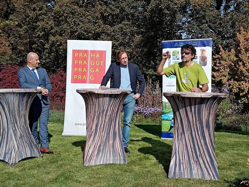Iniciátor výzvy Jaroslav Martinek (vpravo).