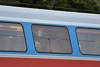 Pražská policie vyšetřuje hlášenou střelbu na vlak.