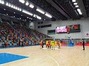 Basketbalistky USK přehrály Nymburk 84:39.