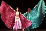Exotická taneční soutěž - Orientální princezny tančí
