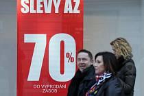 Povánoční výprodeje v Praze jsou v plném proudu
