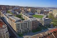 Nové byty. Okolí populárního pražského stadionu Viktorie Žižkov obklopí výstavba.