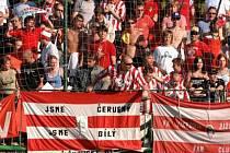 Fanoušci ultras Viktorky.