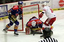 Druhý zápas českobudějovického Motoru s pražskou Slavií proběhl v úterý v českobudějovické Budvar Areně.
