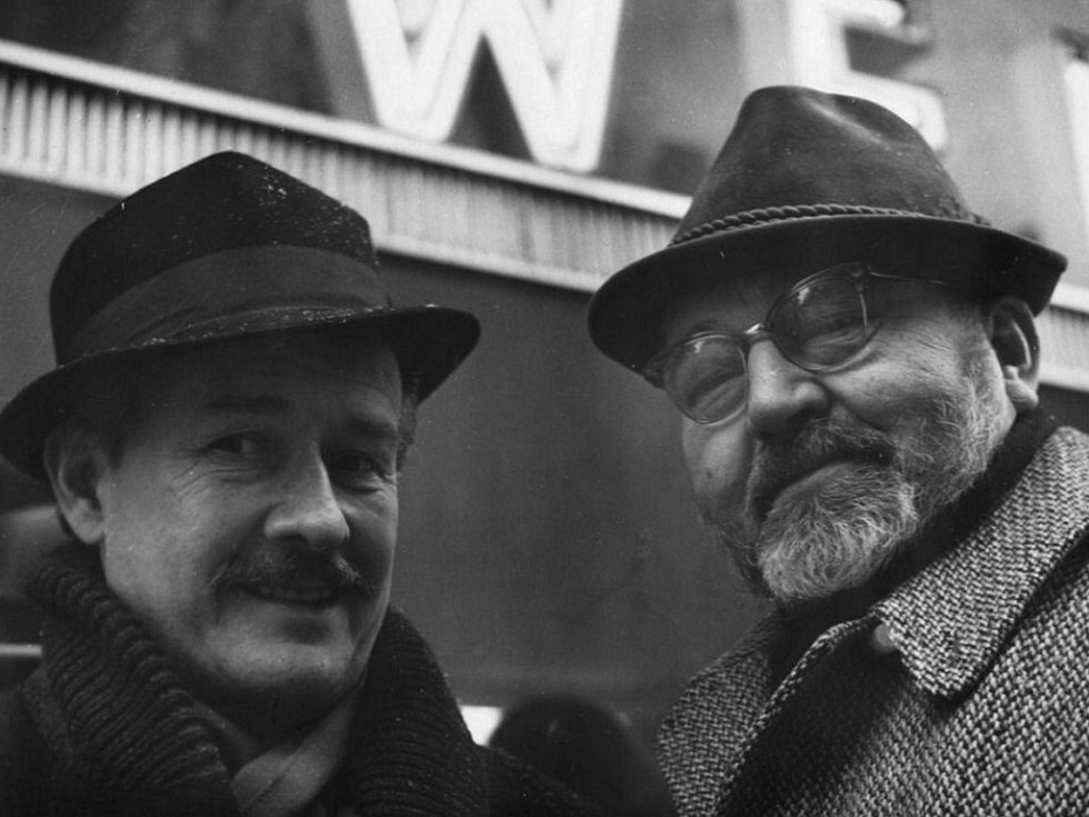 Jiří Voskovec a Jan Werich.