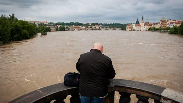 Povodně v Praze.