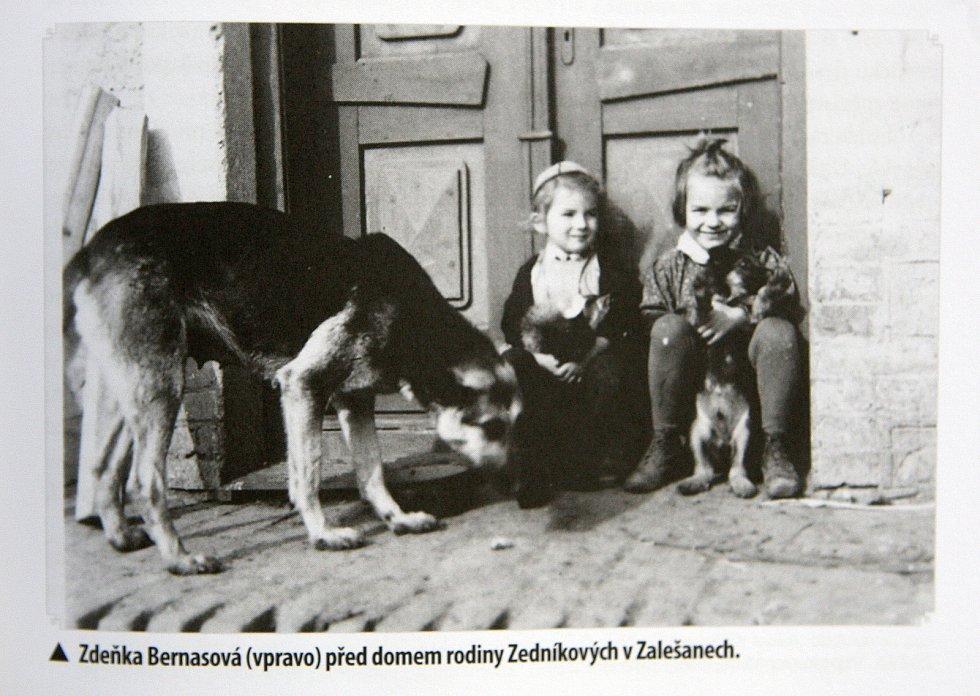 Rozhovor s pamětnicí války Zdenou Čapkovou