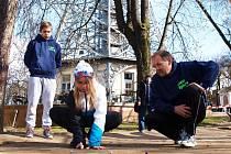 Kuličky hraje celá rodina Mišovičových.