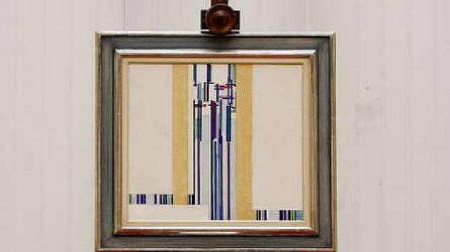 Obraz Františka Kupky Élévation (Výšky) IV.